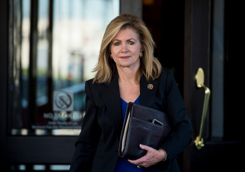 """Rep. Marsha Blackburn, R-Tenn., says she will continue investigating """"the industry as a whole"""" despite push back by pro-choice supporters. (Photo By Bill Clark/CQ Roll Call)"""