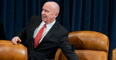 """Decades of experience tells us the most effective anti-poverty program is a job,"" Committee Chairman Brady said. (Photo: Tom Williams/CQ Roll Call/Newscom)"