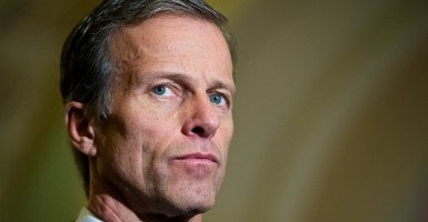 """I think that having a huge bureaucracy always creates problems that are unintended and unanticipated. And this is probably an example of that,"" Sen. John Thune, R-S.D., said of the TSA. (Photo: Tom Williams/CQ Roll Call/Newscom)"