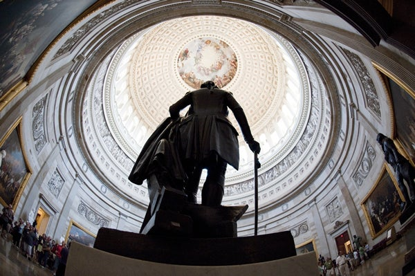 Rotunda at the U.S. Capitol on July 1, 2011