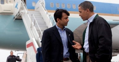 Republicans must offer policies that lift more Americans than those of  President Obama, argues Louisiana Gov. Bobby Jindal.  (Photo: Pete Souza/Newscom)