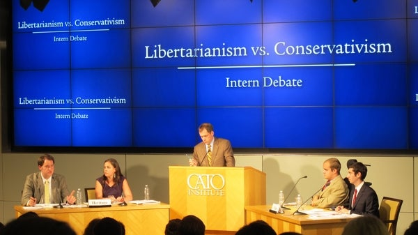The Heritage Foundation and The Cato Institute Debate