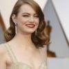 "Actress Emma Stone, who starred in ""La La Land,"" chooses to show support for Planned Parenthood in her Oscars attire. (Photo: Mike Blake/Reuters/Newscom)"