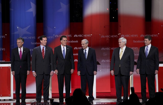 Republican presidential candidates in New Hampshire