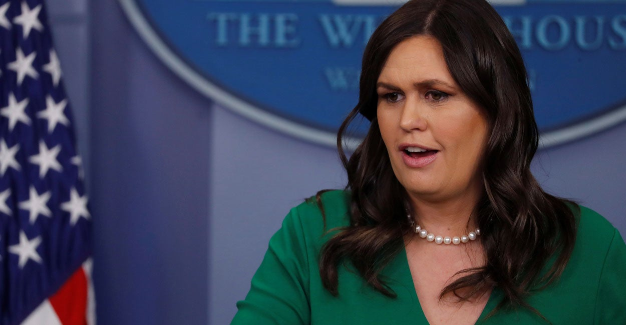 Must-See Moments: Sarah Huckabee Sanders' Withering Response to Hillary Clinton's Comments