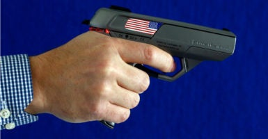 """What we oppose is government mandates requiring people to only use [smart guns],"" a NRA spokesman said. (Photo: Michael Dalder/REUTERS/Newscom)"