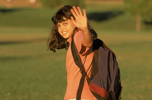 school-girl-waving