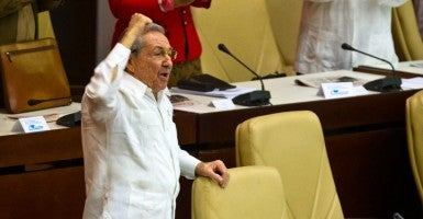 Cuban leader Raul Castro (Photo: Xinhua/Liu Bin/Newscom)