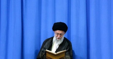 Iran's Supreme Leader, Ali Khamenei. (Photo: AY-COLLECTION/SIPA/Newscom)