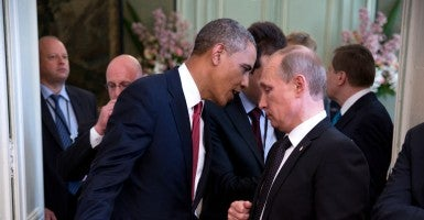 President Obama and Russian President Vladimir Putin. (Photo: The White House/Sipa USA/Newscom)