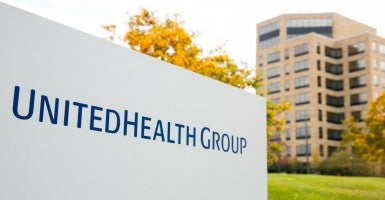 The UnitedHealth Group headquarters in Minnetonka, Minnesota. (Photo: Kris Tripplaar/Sipa USA/Newscom)