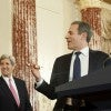 U.S. Secretary of State John Kerry, Undersecretary of State for Public Diplomacy Rick Stengel (Photo: State Department/Sipa USA)