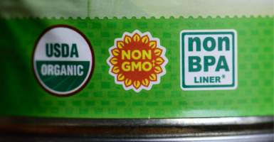 Once the federal government imposes mandatory GMO labeling, there's no going back. (Photo: Alex Milan Tracy/Sipa USA/Newscom)