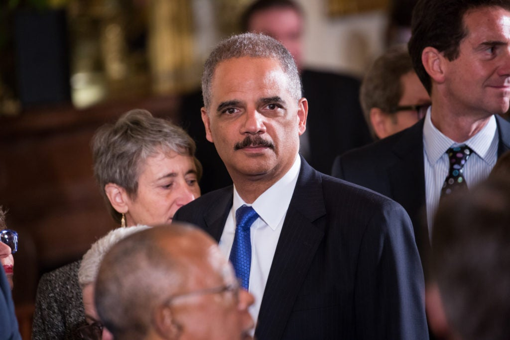In the Obama administration, then-Attorney General Eric Holder made it more difficult to include journalists in prosecutions against leakers. (Photo: Cheriss May/NurPhoto/Sipa USA/Newscom)