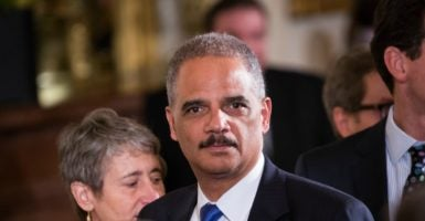 Eric Holder is the only attorney general in history to be held in contempt by Congress for withholding documents related to Operation Fast and Furious, the most reckless law enforcement operation ever conducted by the Justice Department. (Photo: Cheriss May/NurPhoto/Sipa USA /Newscom)