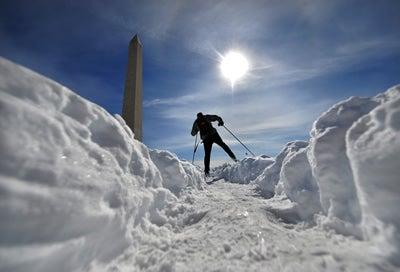 Record snow in Washington