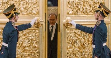 Russia's president Vladimir Putin (Photo: Ilya Pitalev/TASS/Newscom)
