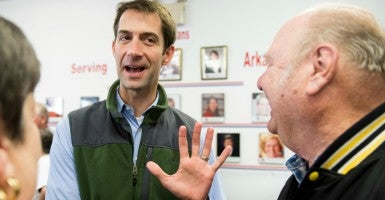 Sen. Tom Cotton, R-Ark. (Photo: Bill Clark/CQ Roll Call/Newscom)