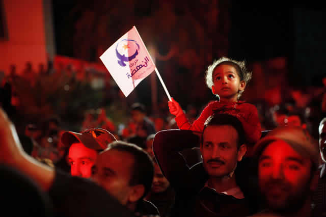 Since the Arab Spring, free elections have become a part of Tunisian society. (Photo: Corentin Fohlen/Sipa)