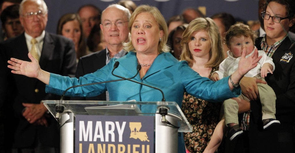 Senate Democrats are pushing for a vote on the Keystone XL pipeline and Louisiana Sen. Mary Landrieu is leading the charge. (Photo: A.J. Sisco/Newscom)
