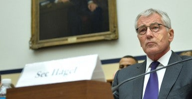 Defense Secretary Chuck Hagel (Photo: Newscom)