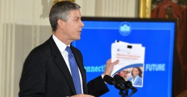 Education Secretary Arne Duncan (Photo: UPI/Kevin Dietsch/Newscom)