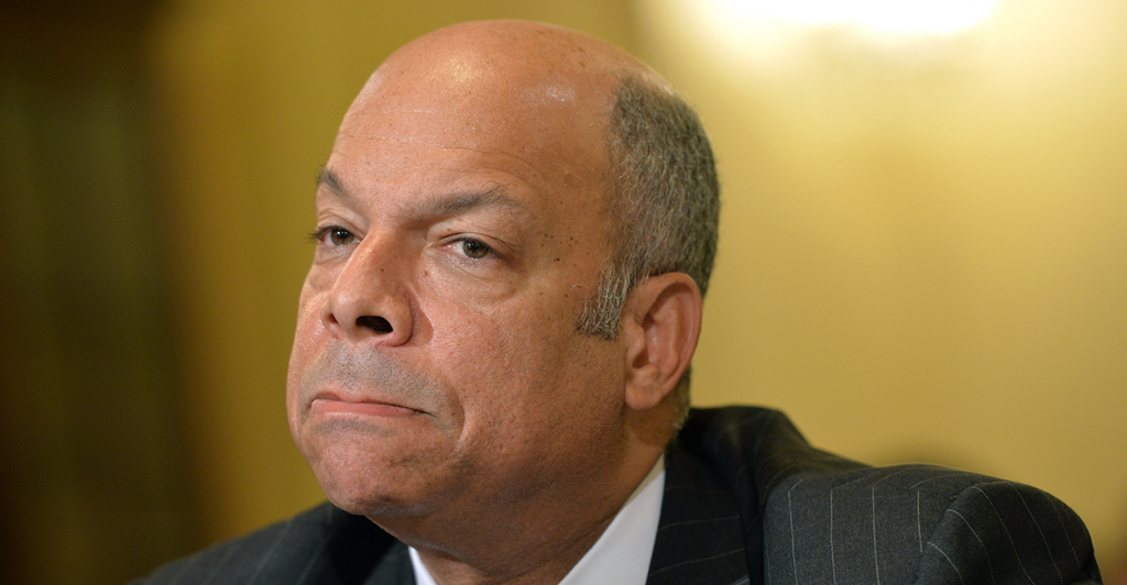Jeh Johnson, U.S. Department of Homeland Security Secretary was asked a seemingly simple question by Rep. Lou Barletta, R-Pa., in a House hearing . (Photo: UPI/Kevin Dietsch/Newscom)