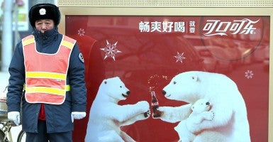 High-profile firms targeted by Chinese regulators include Audi, Coca-Cola, Mercedes-Benz, Microsoft, Qualcomm, and Wal-Mart.  (Photo: UPI/Stephen Shaver/Newscom)