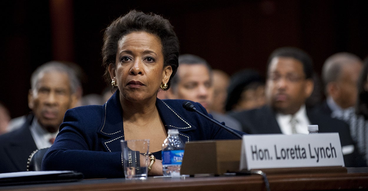Loretta Lynch's Confirmation Hearing in 42 Seconds