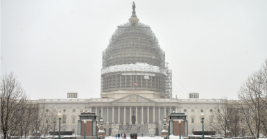 Sixty-eight percent of respondents in a Economist Group/YouGov poll support the congressional ban on earmarks. (Photo: Kevin Dietsch/UPI/Newscom)