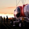 A space balloon prepares for launch in Tucson, Ariz. (Photo: CB2/ZOB/Supplied by WENN.com/Newscom)