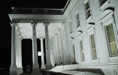 Photo taken on May 1, 2011 shows the White house in Washington D.C.