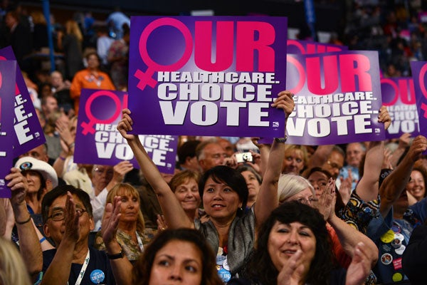 Women at the DNC 2012