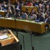 'Time for a new compact': President Obama speaks at the United Nations today in New York. (Photo: Newscom