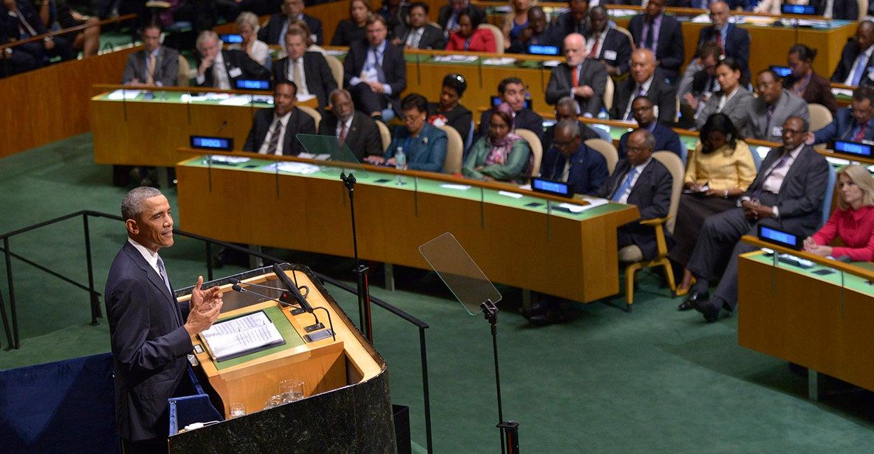 Barack Obama en Naciones Unidas