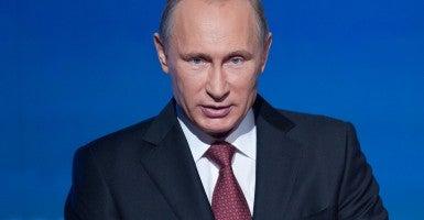 Russian President Vladimir Putin (Photo: Xinhua/Dai Tianfang/Newscom)