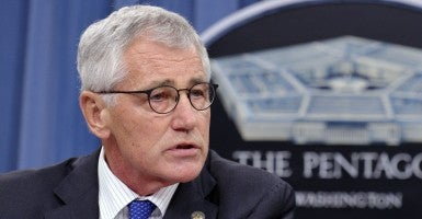 Secretary of Defense Chuck Hagel (Photo: Newscom)
