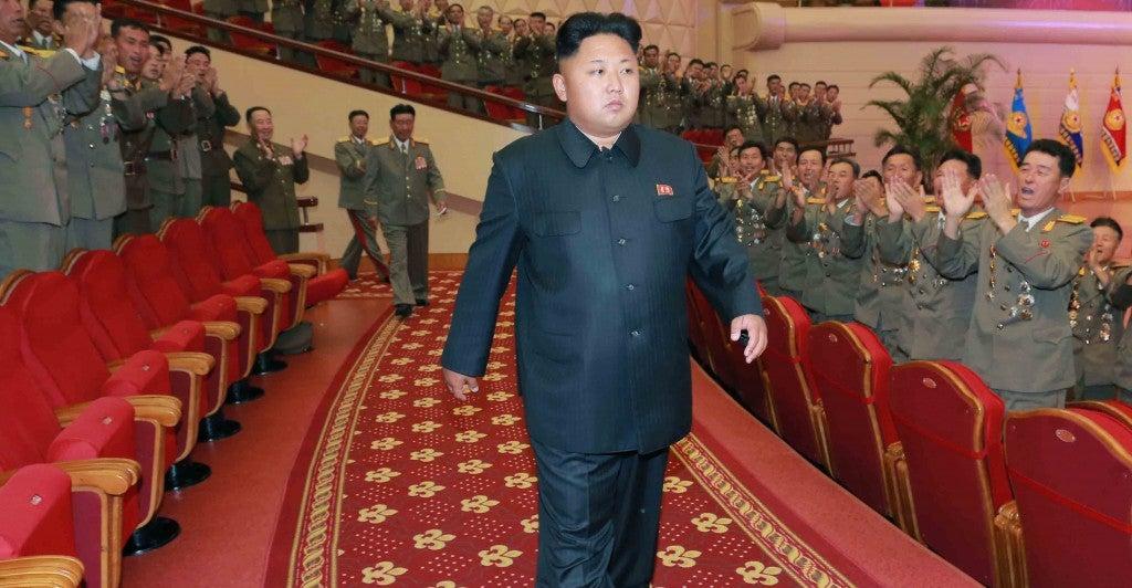 Kim Jong-un was Photo: Newscom