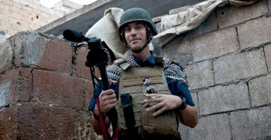 Foley went missing in Syria Nov. 22, 2012. (Photo: Newscom)