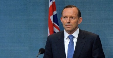 'Highly effective': Australian Prime Minister  Tony Abbott (Photo: Newscom)