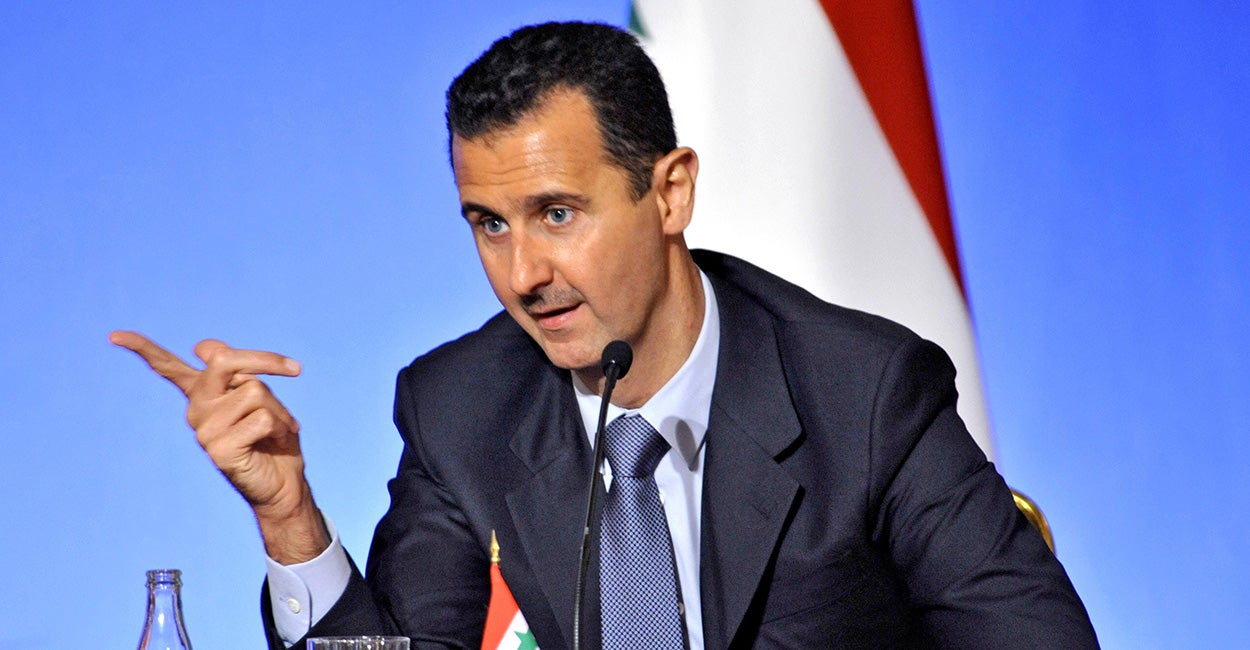 Bashar Al-Assad, President of Syria (Photo: Jose Giribas/Ropi/ZUMA Wire/Newscom)