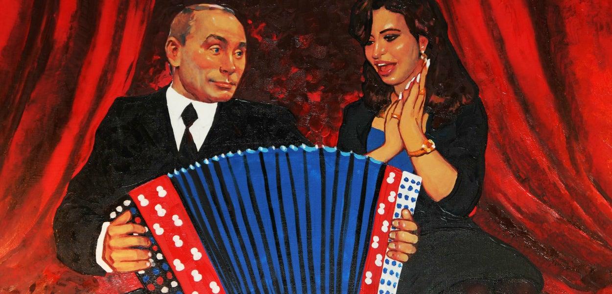 Putin y Cristina