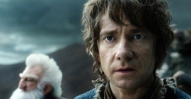 The 9-year-old was suspended from his school for pretending to be Bilbo Baggins. (Photo: Tass/TASS/ZUMA Wire)