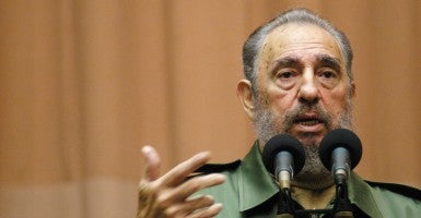 Veteran Cuban leader Fidel Castro (Photo: Michael A. Mariant/ZUMA Press/Newscom)