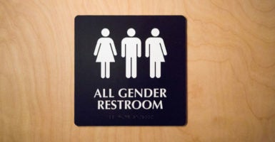 A federal judge in Texas rules the Obama administration usurped state and local authority when issuing a mandate requiring schools to open its bathrooms, showers, and locker rooms to students of the opposite biological sex. (Photo: Brian Branch Price/Zuma Press/Newscom)