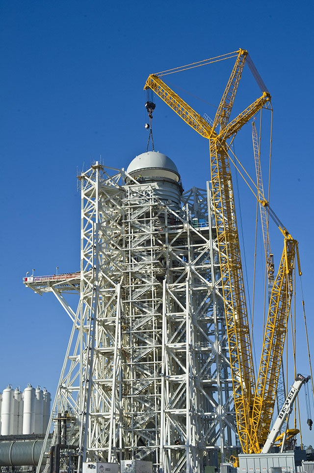 Rocket From NASA Mothballed Ship - Pics about space