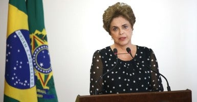 Brazilian President Dilma Rousseff. (Photo: Fabio Rodrigues Pozzebom/ZUMA Press/Newscom)