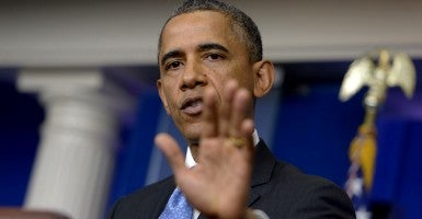 America has added $7.06 trillion of debt since President Obama took office. Ouch. (Photo: Prensa Internacional/Newscom)