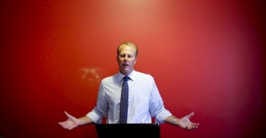 San Diego Mayor Kevin Faulconer is trying to stop climate change. (Photo: Newscom)