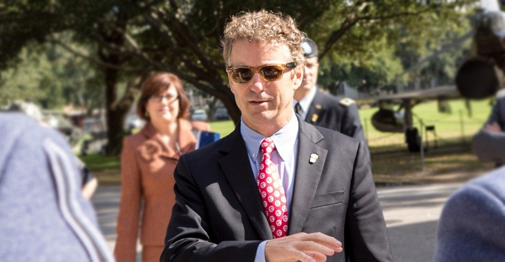 Sen. Rand Paul, R-Ky., has worked to reach out to the black community. (Photo: Richard Ellis/Newscom)